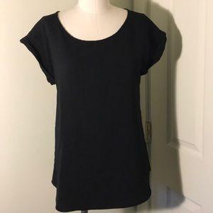 Express Women's Black Blouse